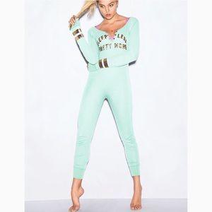 PINK Victoria's Secret pajama onesie